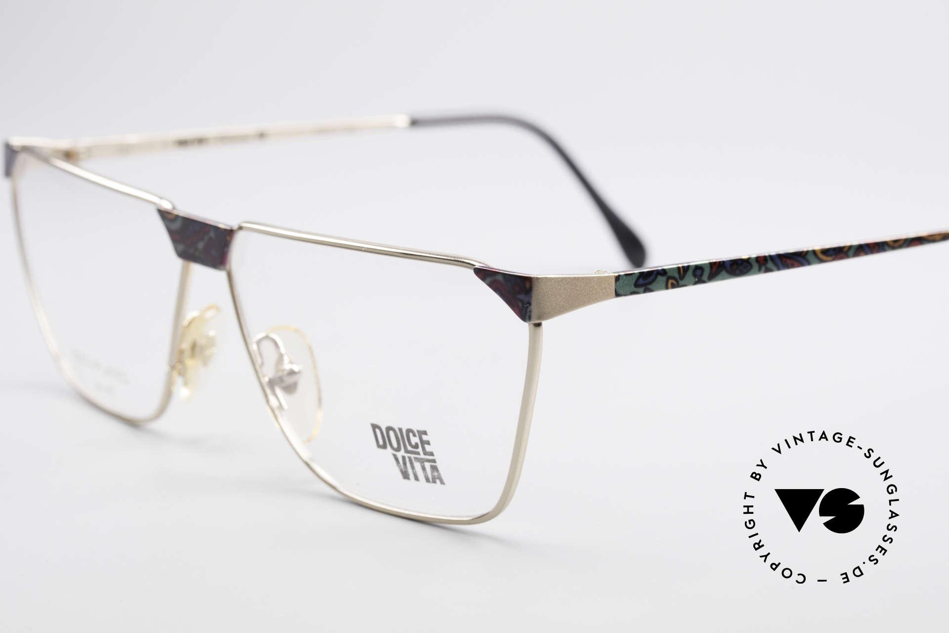 Casanova NM22 Dolce Vita 24kt Vintage Brille, nur in Kleinstserie produziert, da aufwändig und teuer, Passend für Herren und Damen
