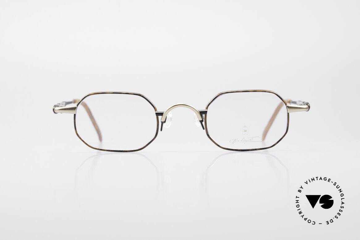 Bugatti 29957 Eckige Brillenfassung 90er