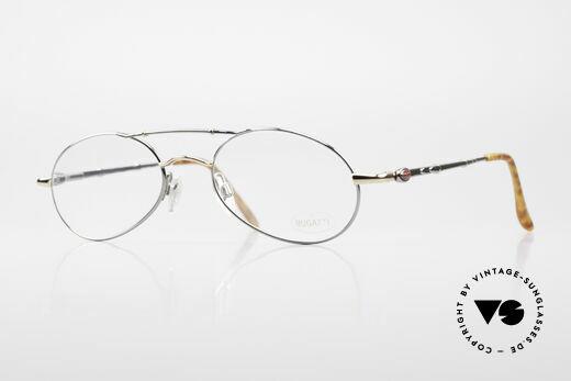 Bugatti 09992 90er Herren Vintage Brille Details