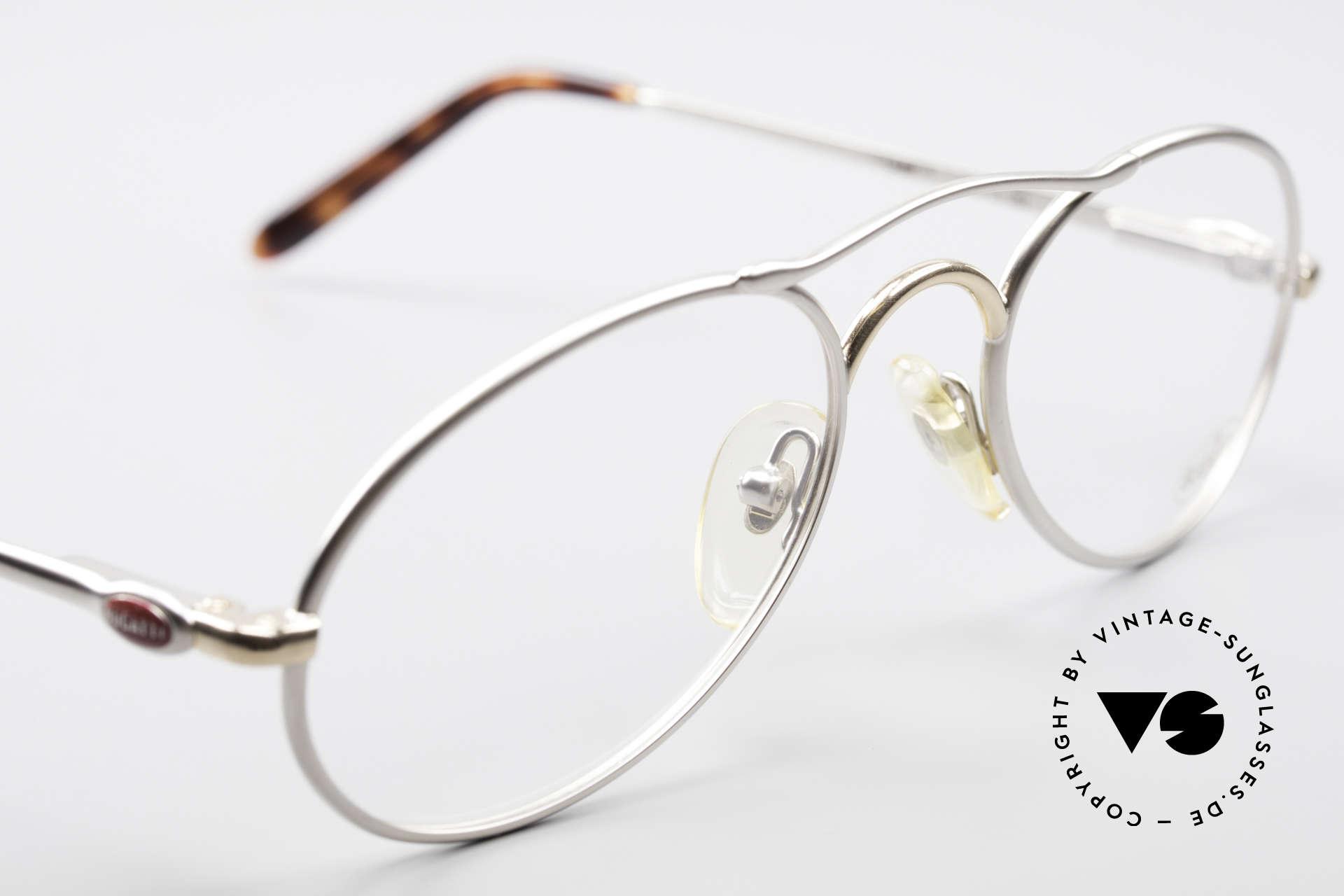 Bugatti 23439 Vintage Brille Mit Sonnenclip, Größe: medium, Passend für Herren