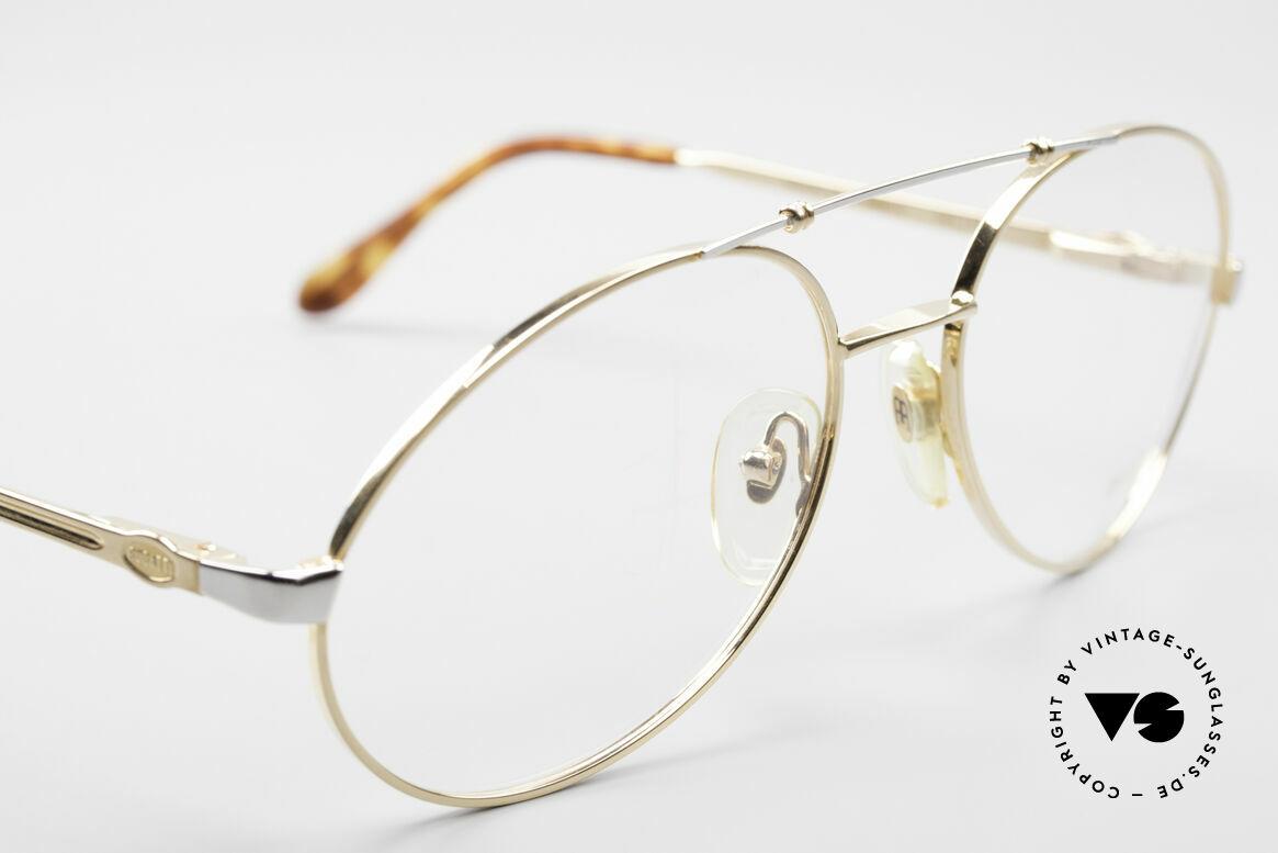 Bugatti 14808 Vergoldete 80er Vintage Brille