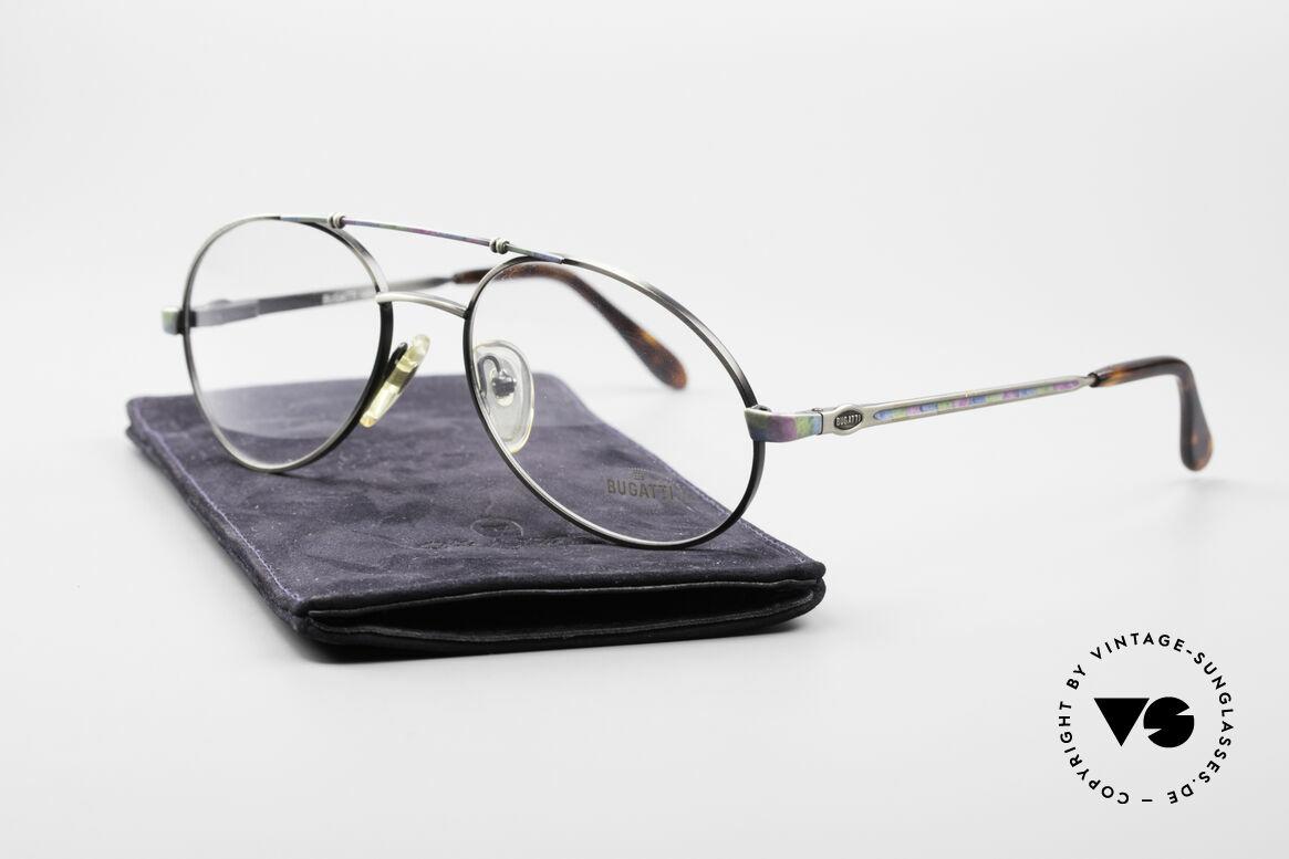 Bugatti 14841 Titanium 80er Vintage Brille