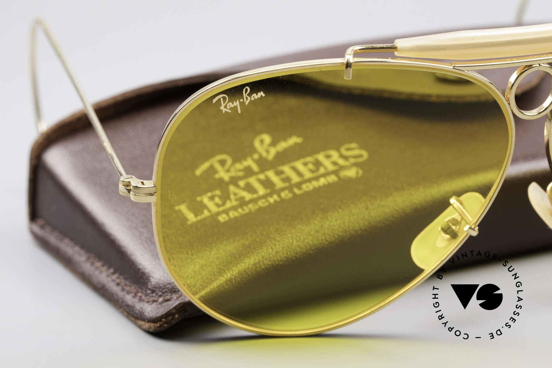 Ray Ban Shooter Sport Kalichrome B&L Gläser 62mm, KEINE RETROsonnenbrille, sondern ein USA-ORIGINAL, Passend für Herren