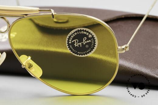 Ray Ban Shooter Sport Kalichrome B&L Gläser 62mm, Lieferung in einem Bausch&Lomb Ray-Ban Leathers Etui, Passend für Herren