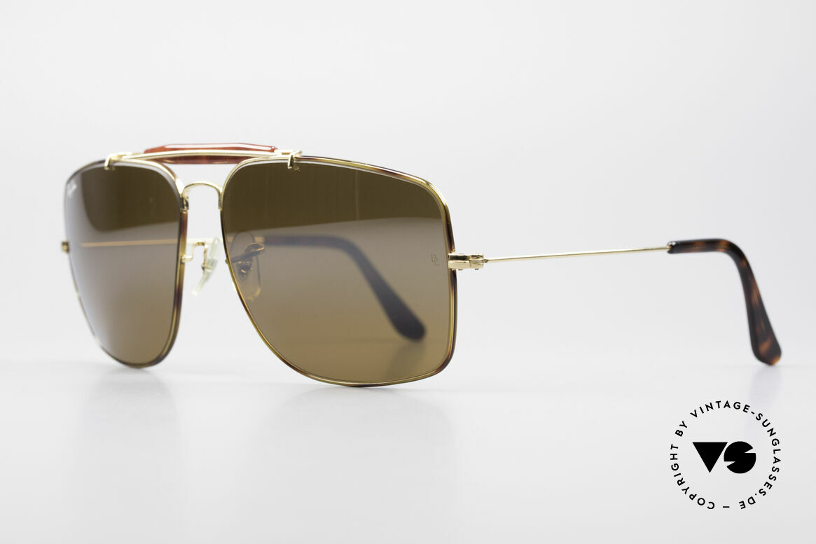 Ray Ban Explorer Large Tortuga Edition Verspiegelt