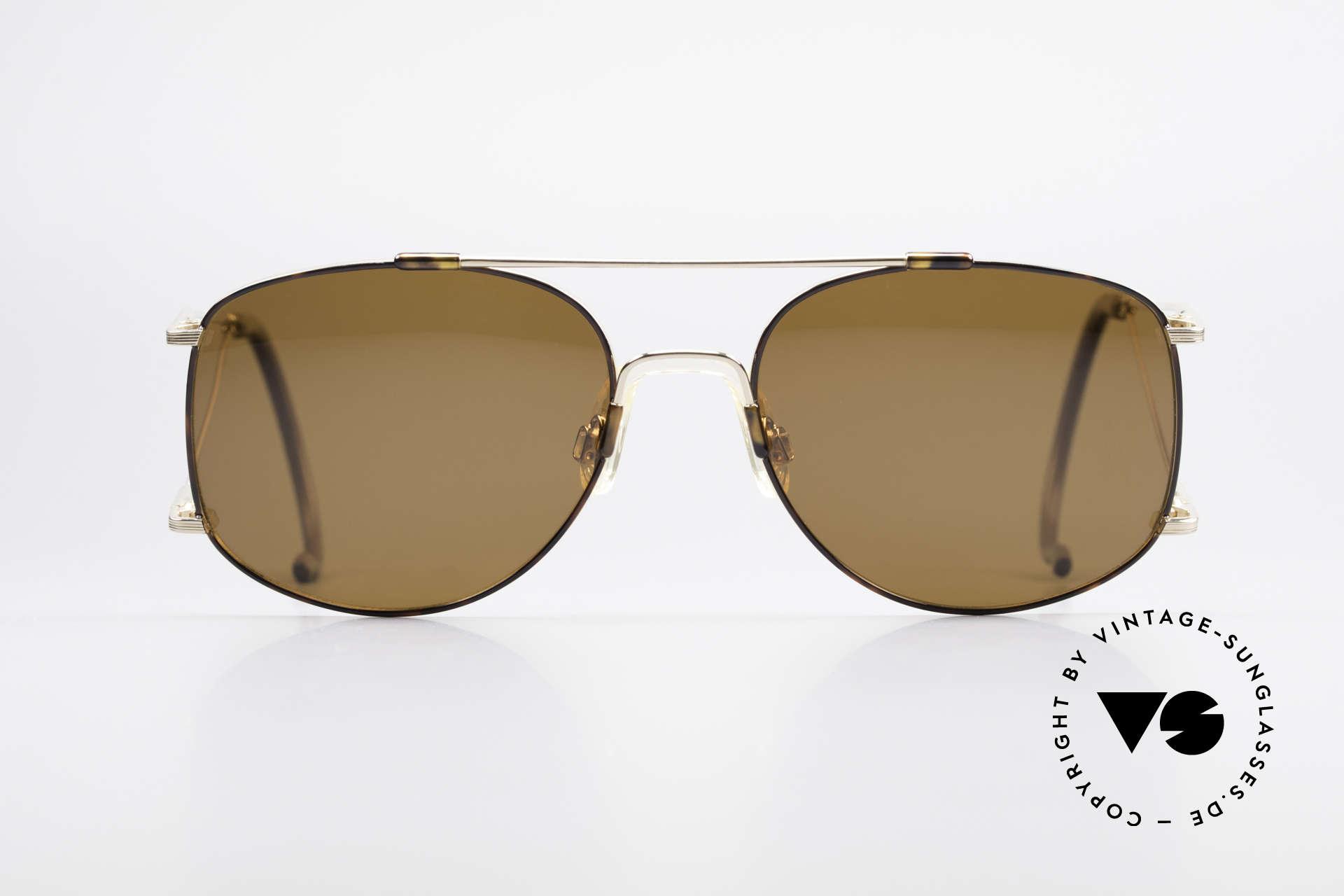 Neostyle Sunsport 1501 Titanflex Vintage Sonnenbrille, enormer Tragekomfort, dank TITAN-FLEX Material, Passend für Herren