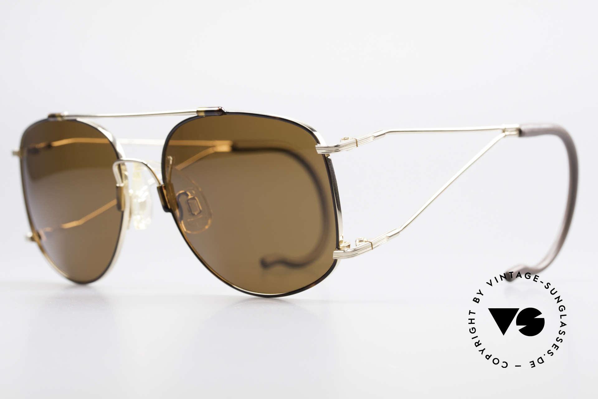 Neostyle Sunsport 1501 Titanflex Vintage Sonnenbrille, TITAN-FLEX ist unglaublich robust und sehr leicht, Passend für Herren