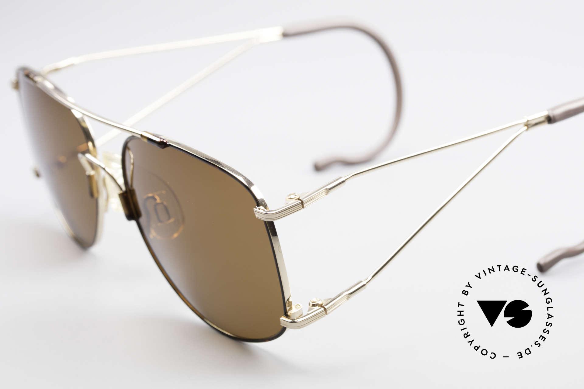 Neostyle Sunsport 1501 Titanflex Vintage Sonnenbrille, springt nach Verformung in ursprüngl. Form zurück, Passend für Herren