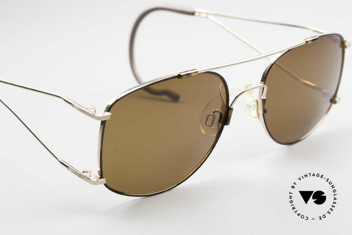 Neostyle Sunsport 1501 Titanflex Vintage Sonnenbrille, genialer 'Memory-Effekt' (muss man ausprobieren!), Passend für Herren
