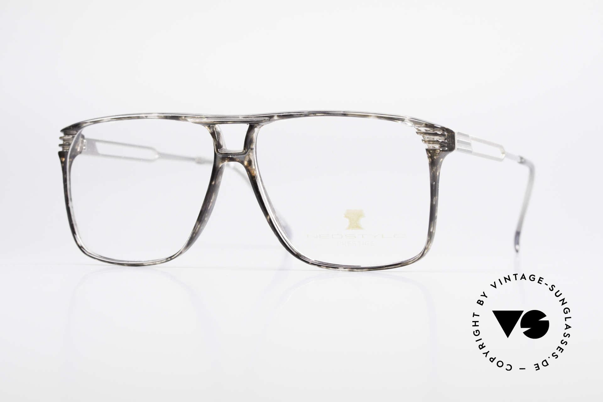 Neostyle Rotary Prestige 33 Titan Fassung 80er Brille, alte Neostyle Rotary Prestige TITAN vintage Brille, Passend für Herren