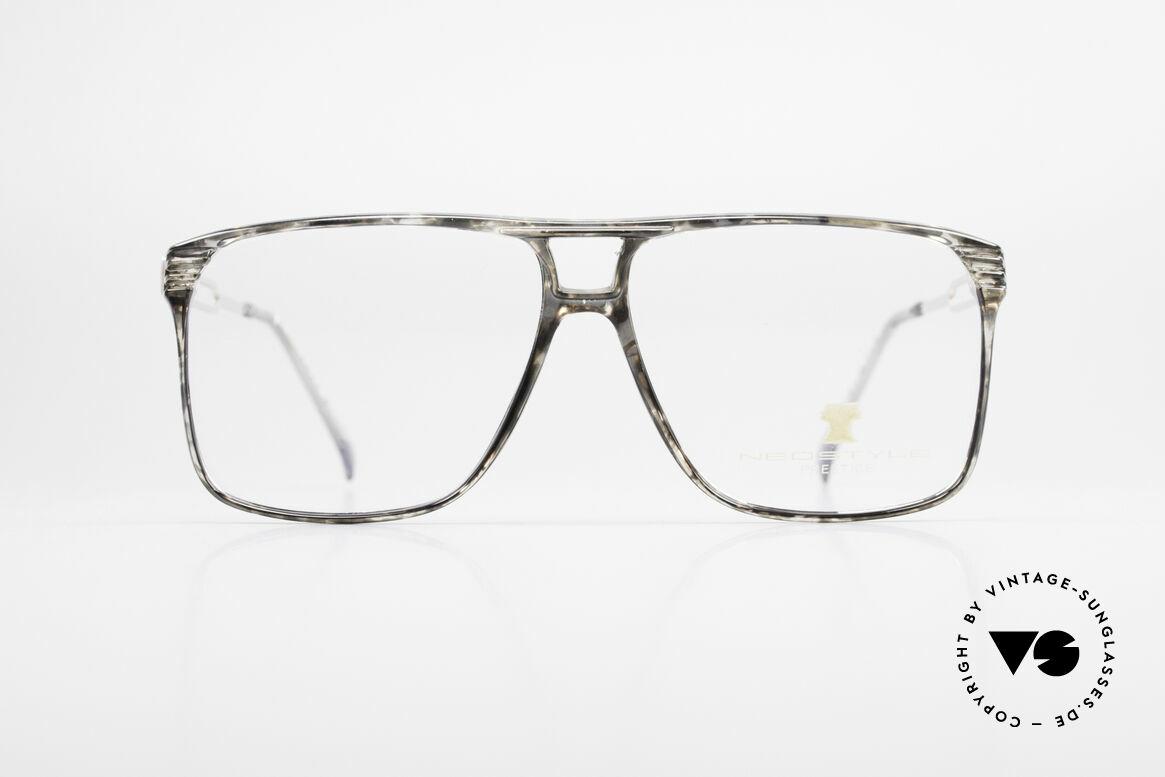 Neostyle Rotary Prestige 33 Titan Fassung 80er Brille, sehr markante Fassung in herausragender Qualität, Passend für Herren