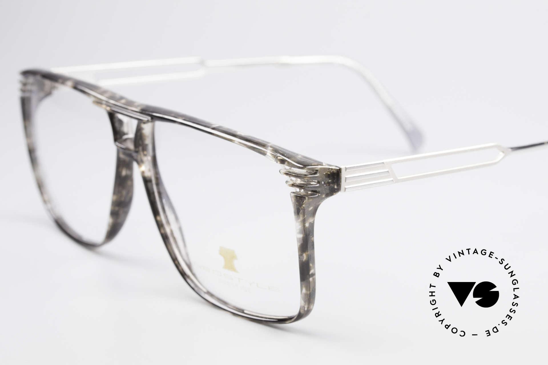 Neostyle Rotary Prestige 33 Titan Fassung 80er Brille, enorm massiv, dennoch sehr komfortabel, da Titan!, Passend für Herren