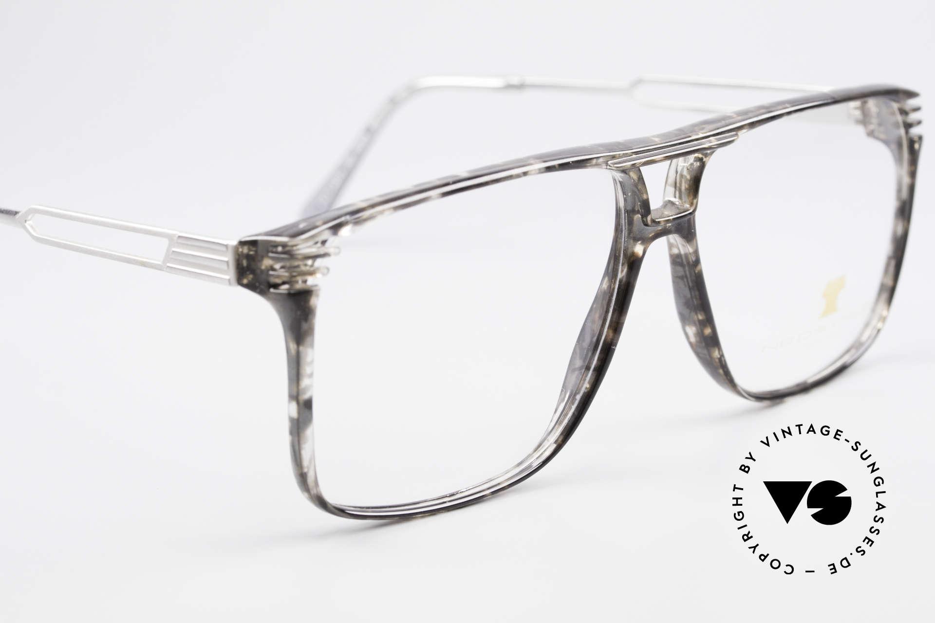 Neostyle Rotary Prestige 33 Titan Fassung 80er Brille, KEINE Retrobrille, sondern ein 30 Jahre altes Unikat, Passend für Herren