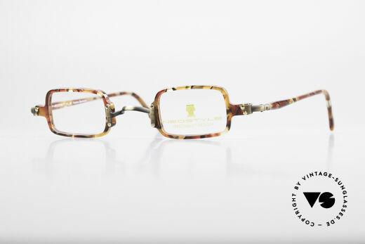 Neostyle Bistro 172 Eckige Unisex Vintage Brille Details