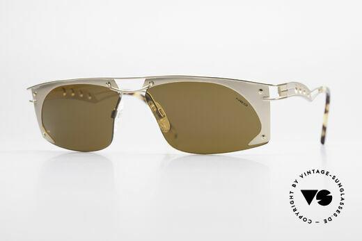 Neostyle Holiday 968 Steampunk 90er Sonnenbrille Details