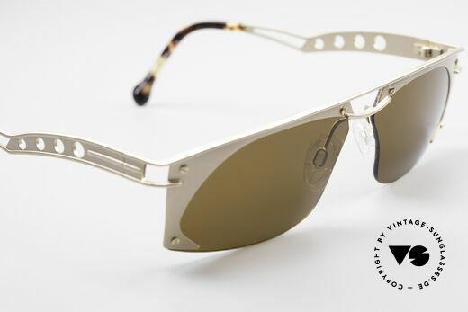 Neostyle Holiday 968 Steampunk 90er Sonnenbrille, KEINE Retrobrille, sondern ein ORIGINAL mit Etui, Passend für Herren