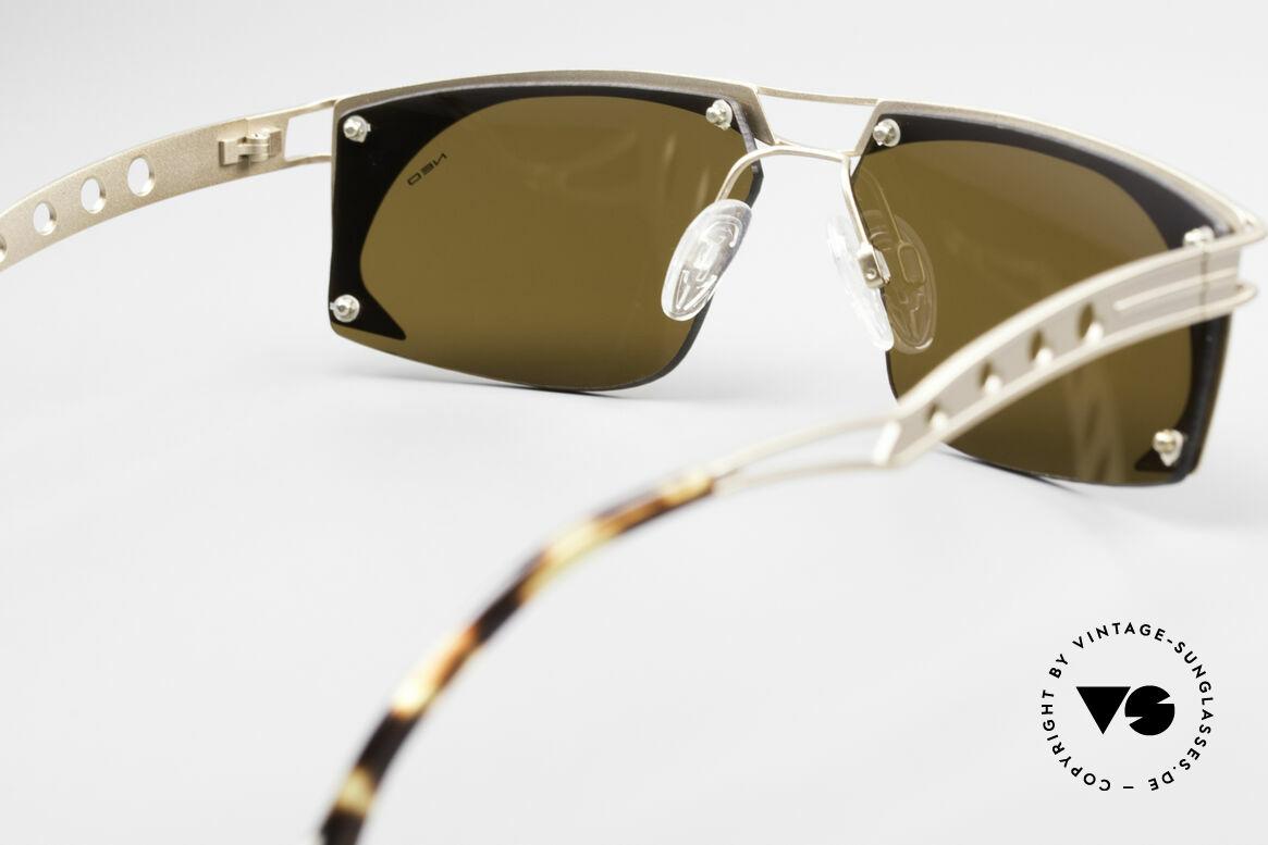 Neostyle Holiday 968 Steampunk 90er Sonnenbrille, Größe: medium, Passend für Herren