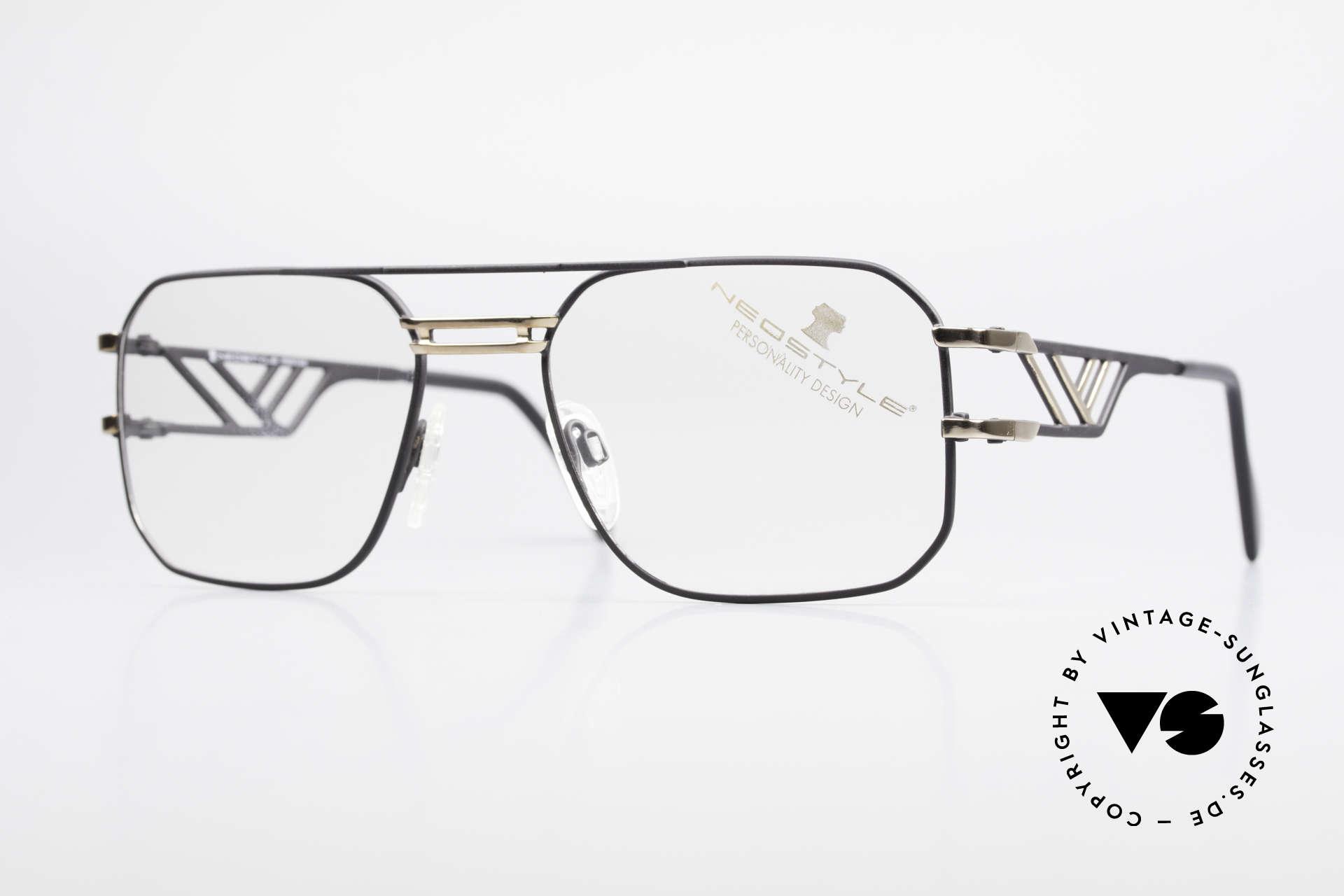 Neostyle Boutique 306 Champion Vintage Brille 80er, monumentale 80er vintage Neostyle Brille, Passend für Herren