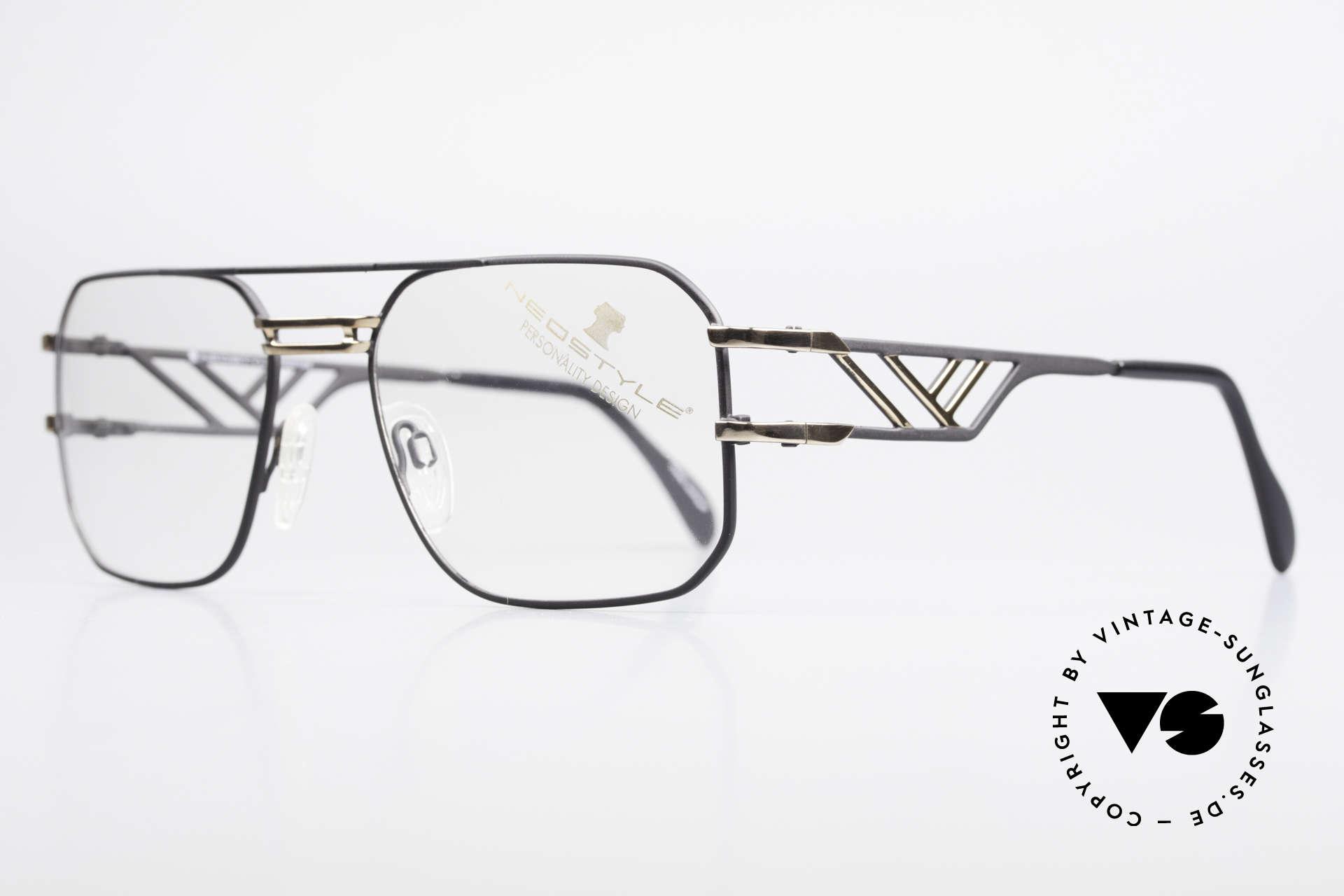 Neostyle Boutique 306 Champion Vintage Brille 80er, Fertigung wie aus einem Stück / einem Guss, Passend für Herren