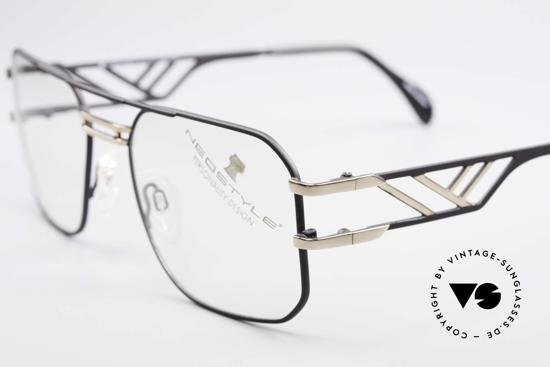 Neostyle Boutique 306 Champion Vintage Brille 80er, fühlbare TOP-Qualität (Champion Edition!), Passend für Herren