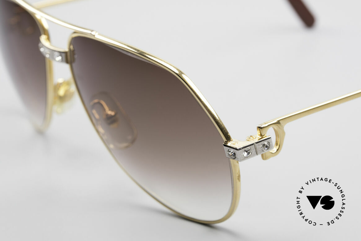 Cartier Vendome Santos - S Customized Crystal Edition, aufwendige Handarbeit unseres Juweliers; Einzelstück!, Passend für Herren und Damen