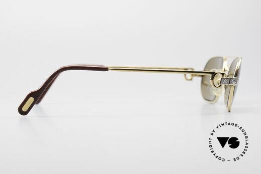 Cartier Must Santos - S Customized Crystal Edition, Mineralgläser: Cartier-Logo erscheint durch Anhauchen, Passend für Herren und Damen