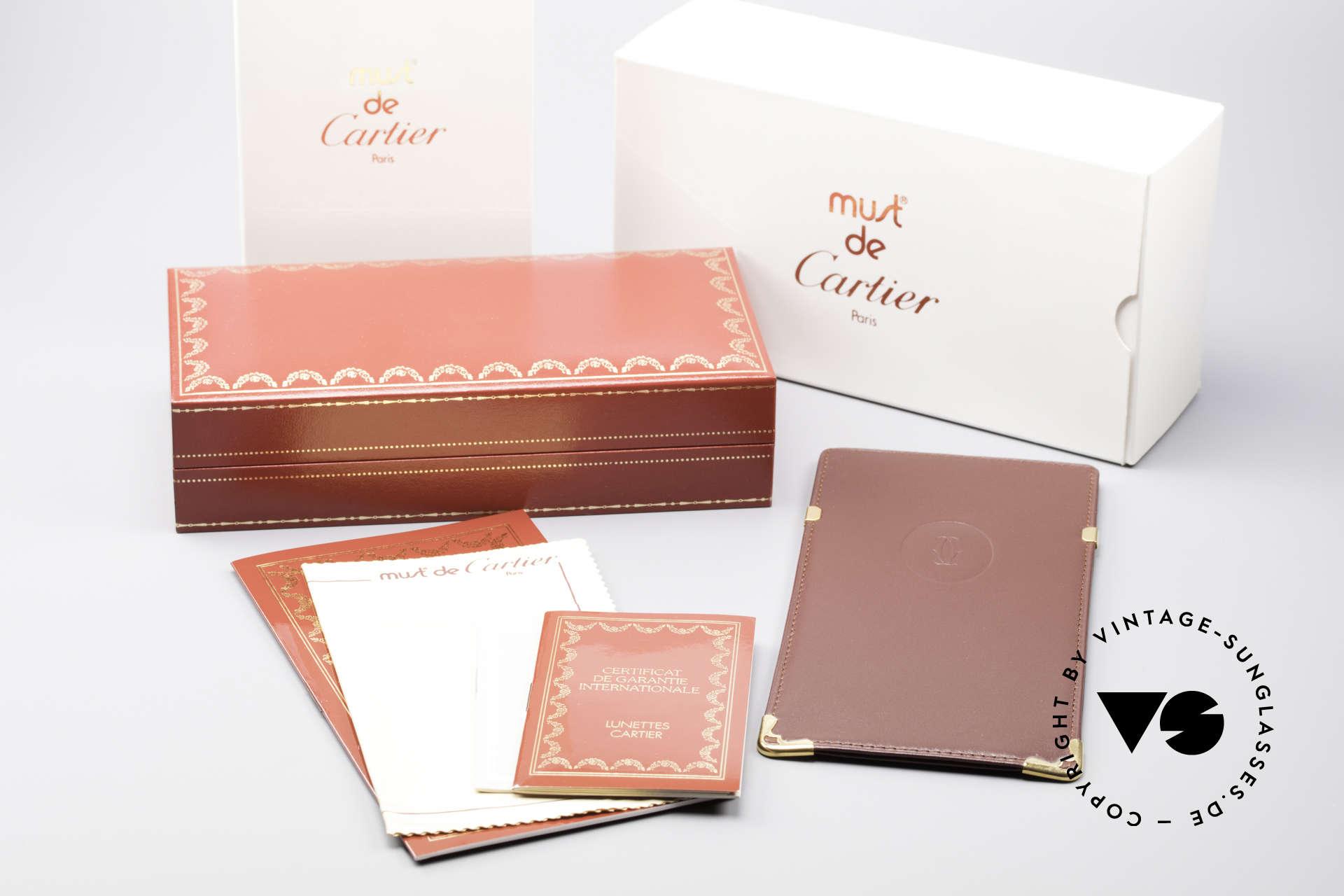 Cartier Must Santos - S Customized Crystal Edition, Größe: medium, Passend für Herren und Damen
