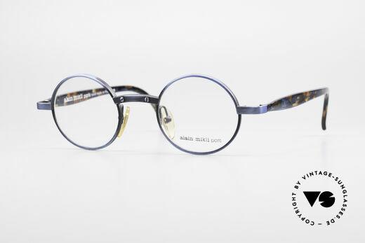Alain Mikli 1218 / 3218 Runde Designer Brille Unisex Details