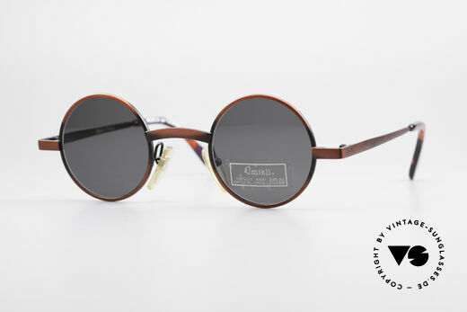 Alain Mikli 6684 / 7684 Runde Designer Sonnenbrille Details