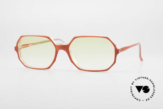 Alain Mikli 065 / 630 Achteckige Sonnenbrille Damen Details