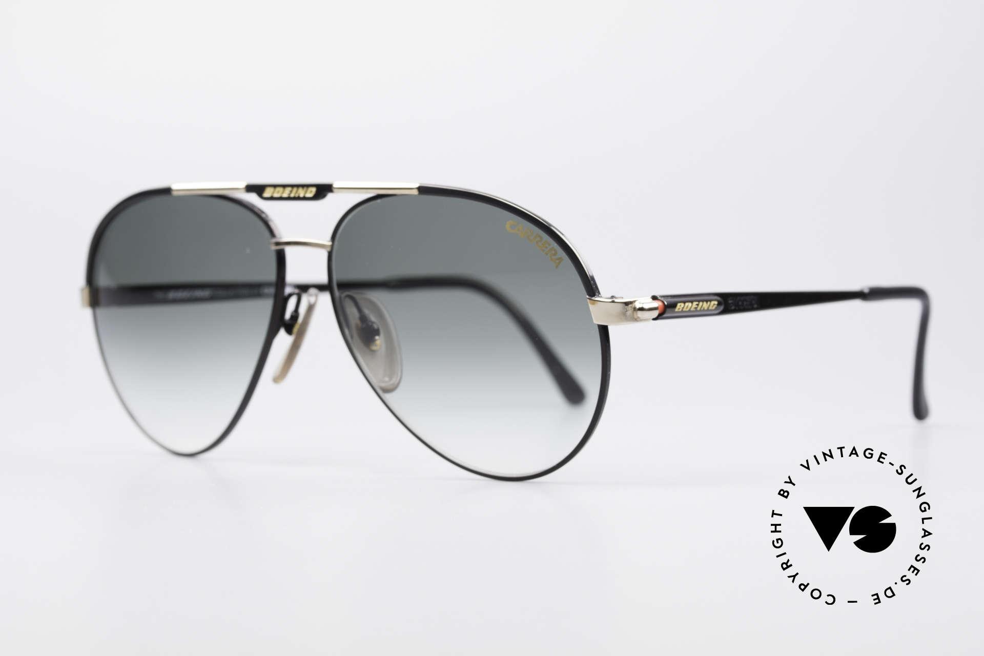 Boeing 5733 Rare 80er Pilotensonnenbrille, Ende der 80er extra für die Boeing-Piloten produziert, Passend für Herren und Damen