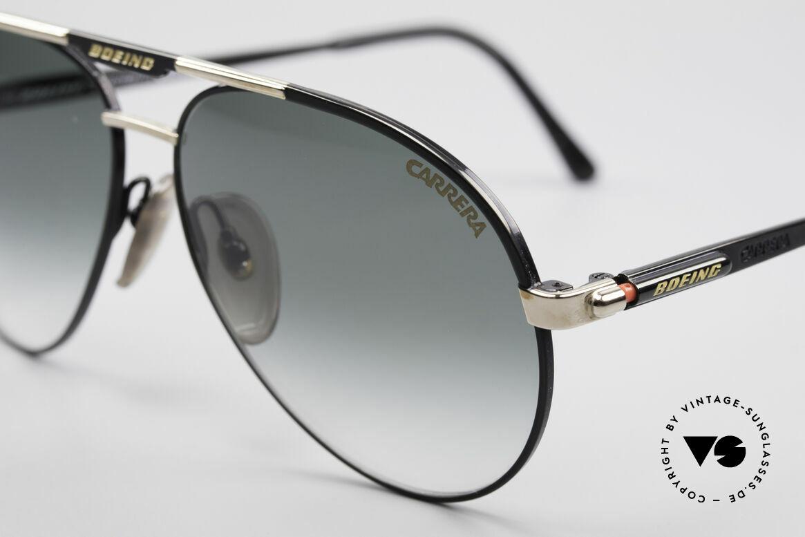 Boeing 5733 Rare 80er Pilotensonnenbrille, entsprechend hochwertig & kostbar (vergoldete Teile), Passend für Herren und Damen
