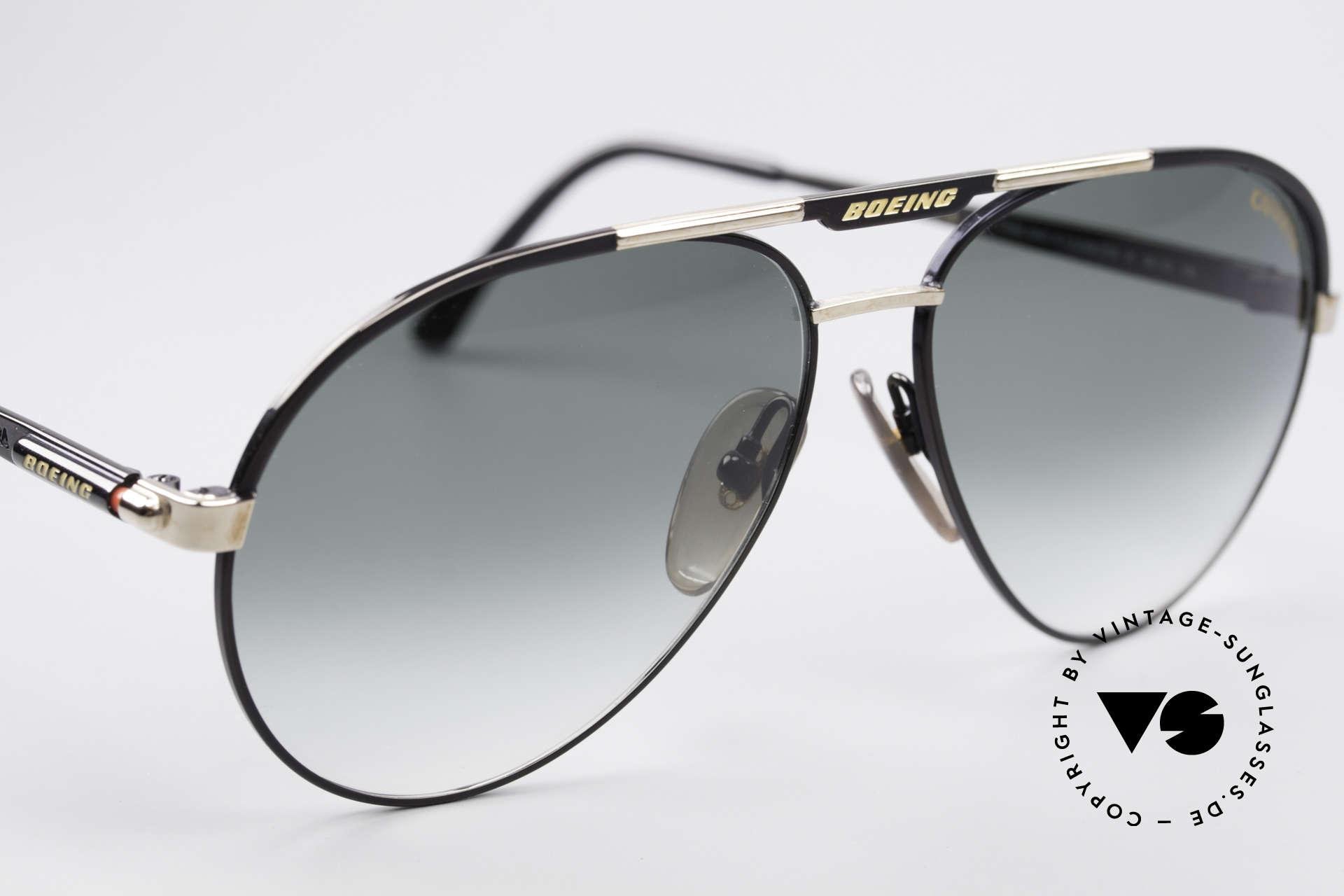 Boeing 5733 Rare 80er Pilotensonnenbrille, ungetragen (wie alle unsere vintage BOEING Brillen), Passend für Herren und Damen