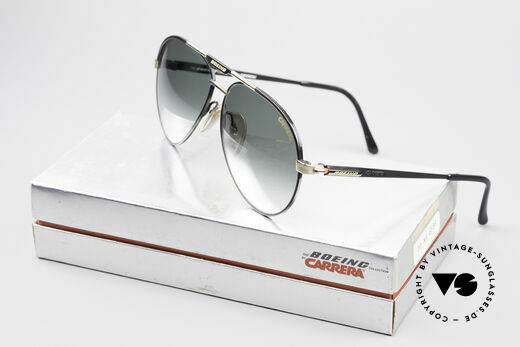 Boeing 5733 Rare 80er Pilotensonnenbrille, KEINE Retrobrille; ein echtes ORIGINAL von 1988/89!, Passend für Herren und Damen