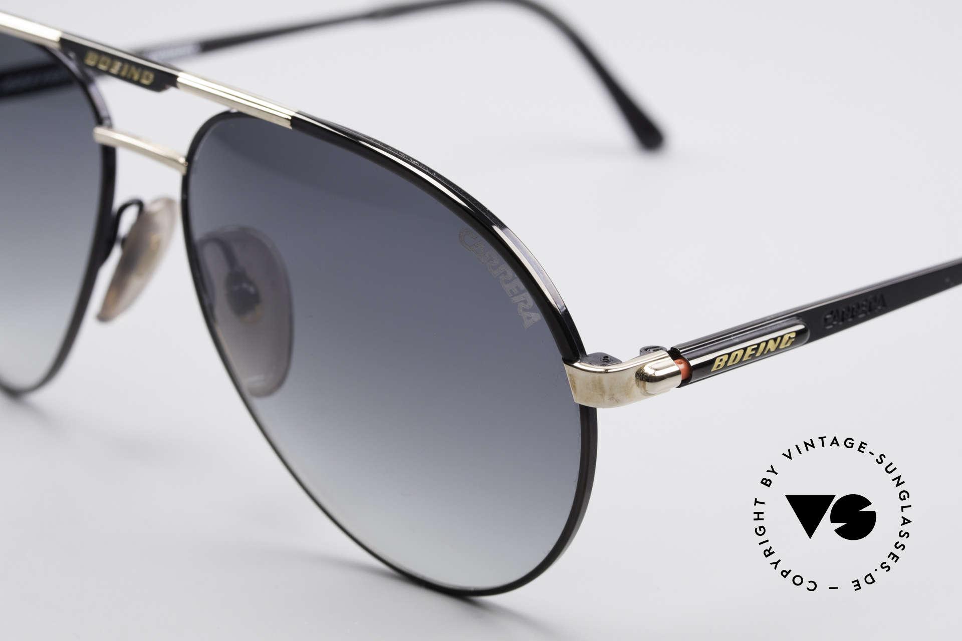 Boeing 5733 Vintage Pilotensonnenbrille, entsprechend hochwertig & kostbar (vergoldete Teile), Passend für Herren