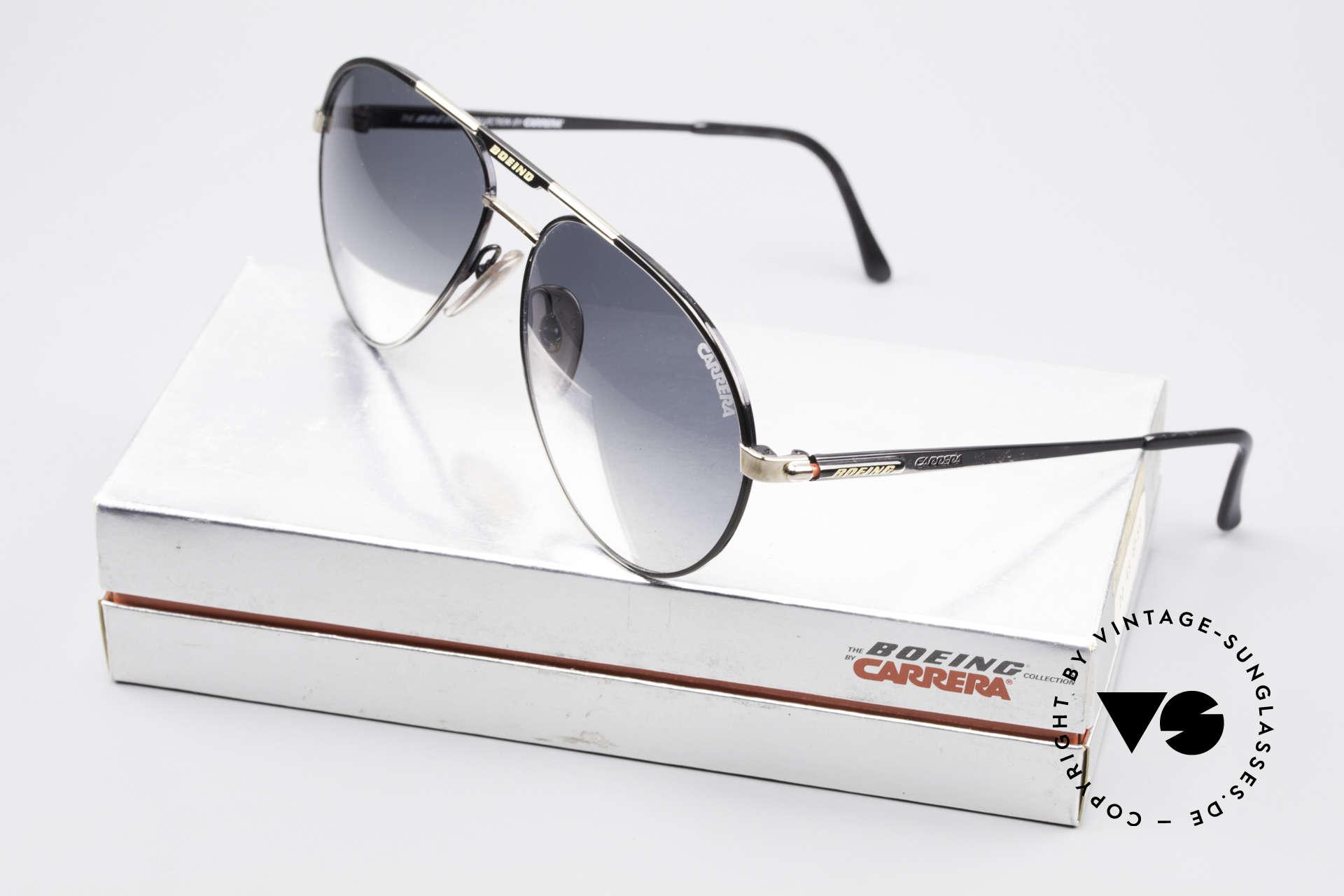 Boeing 5733 Vintage Pilotensonnenbrille, KEINE Retrobrille; ein echtes ORIGINAL von 1988/89!, Passend für Herren