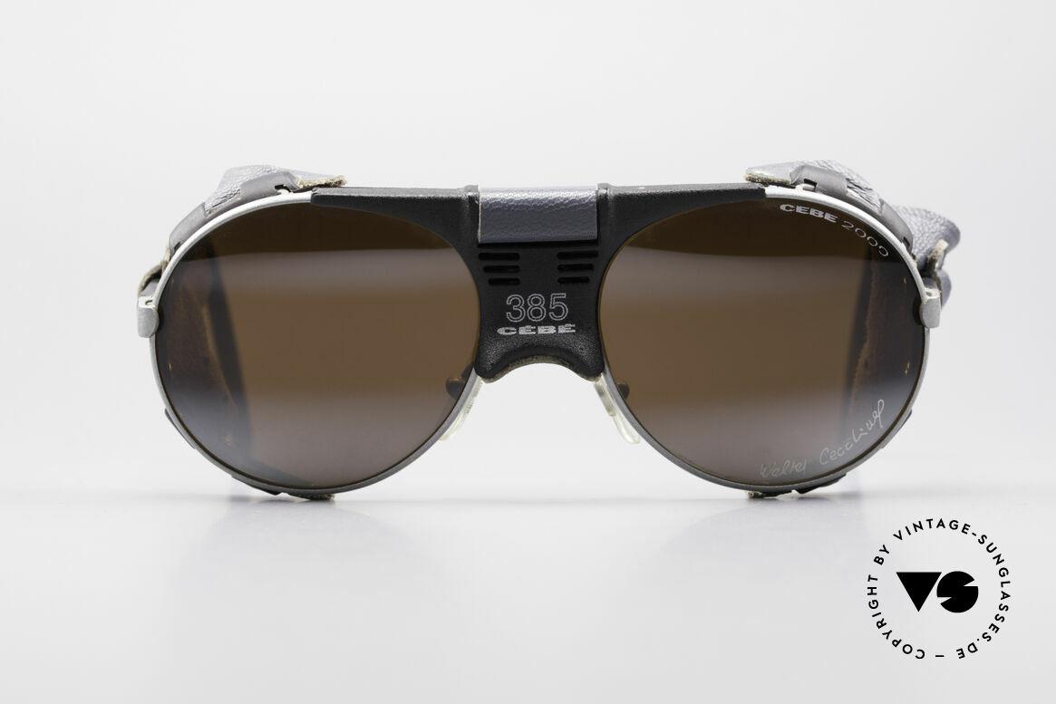 Cebe 385 Walter Cecchinel Sonnenbrille, entwickelt mit & für Extrembergsteiger Walter Cecchinel, Passend für Herren und Damen