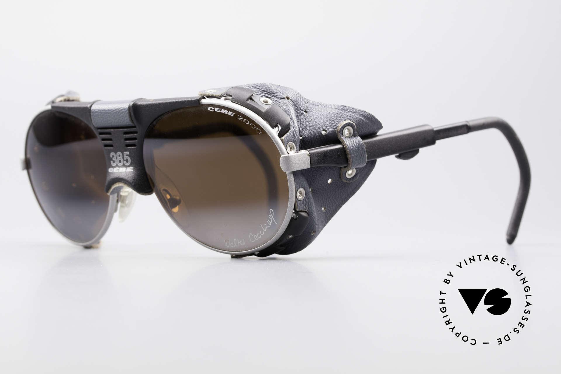 Cebe 385 Walter Cecchinel Sonnenbrille, high-end Spiegelgläser für extreme Sonneneinstrahlung, Passend für Herren und Damen