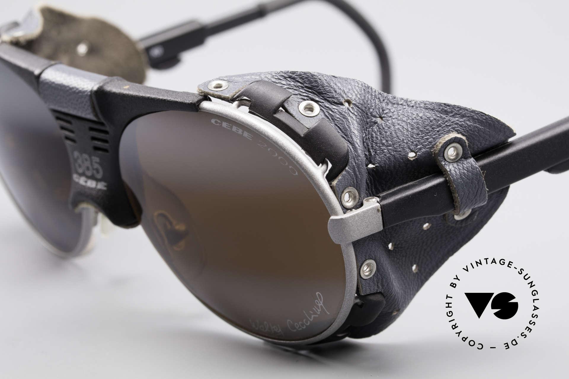 Cebe 385 Walter Cecchinel Sonnenbrille, Rahmenkonstruktion und Seitenblenden für idealen Halt, Passend für Herren und Damen