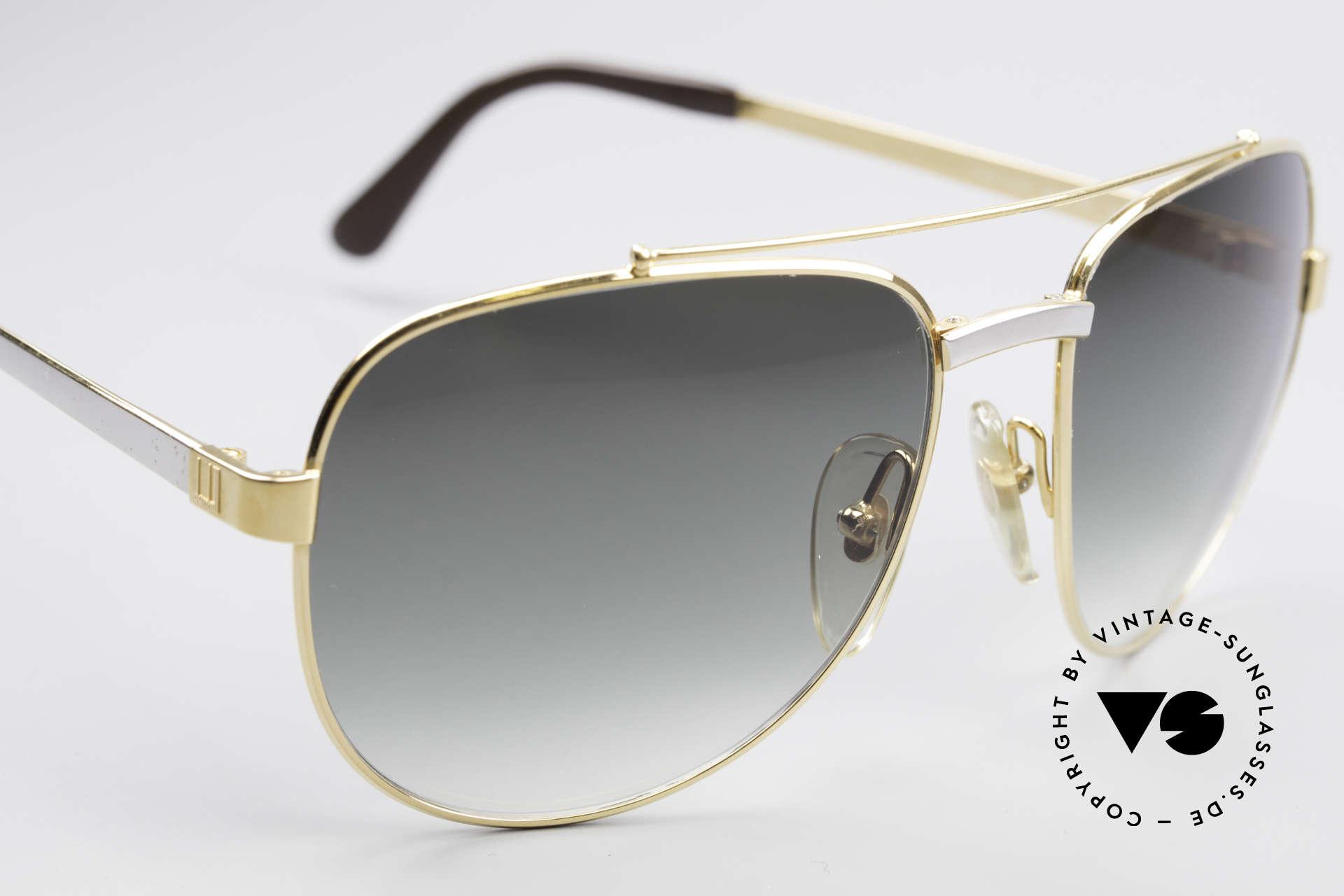 Dunhill 6029 Vergoldete Luxus Sonnenbrille, ungetragen (wie all unsere Luxus-Sonnenbrillen), Passend für Herren