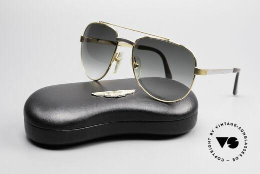 Dunhill 6029 Vergoldete Luxus Sonnenbrille, KEIN retro, ein kostbares 35 Jahre altes Original, Passend für Herren