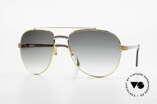 Dunhill 6029 Vergoldete Luxus Sonnenbrille Details