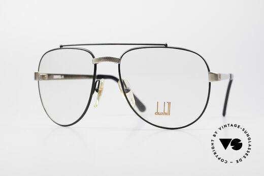 Dunhill 6029 Comfort Fit Luxus Brille 80er Details