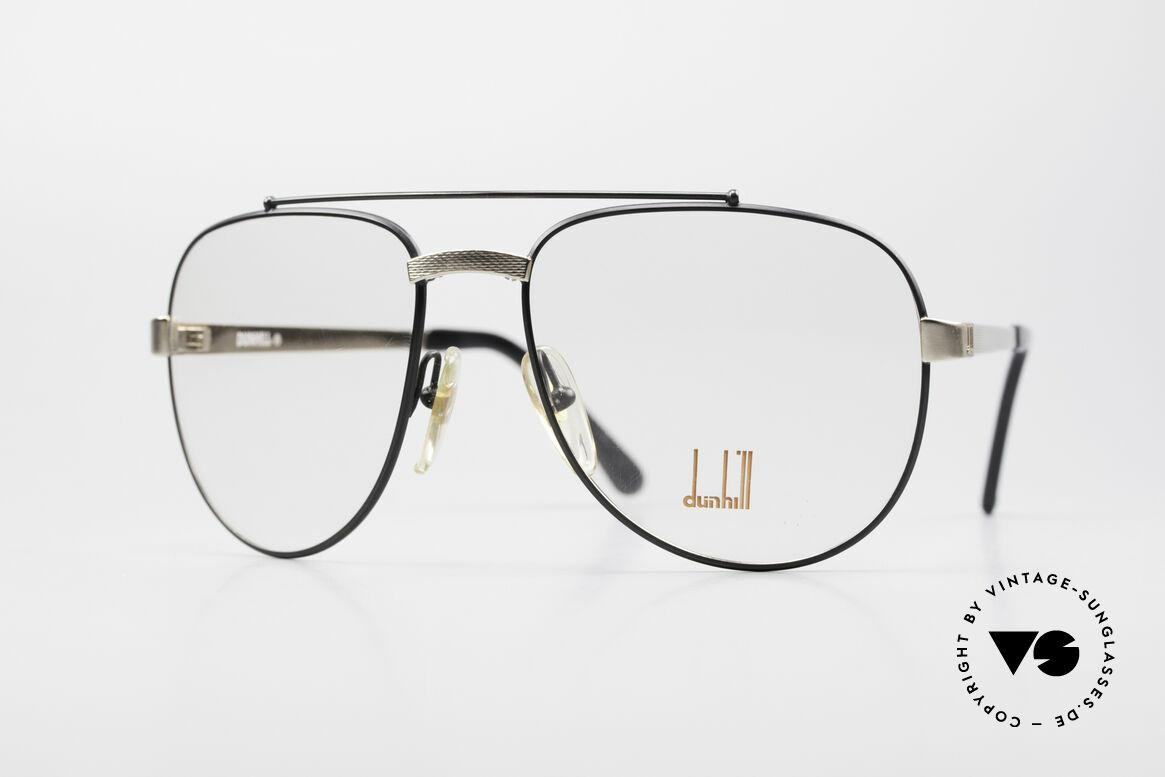 Dunhill 6029 Comfort Fit Luxus Brille 80er, stilvolle Dunhill vintage Brillenfassung von 1985, Passend für Herren