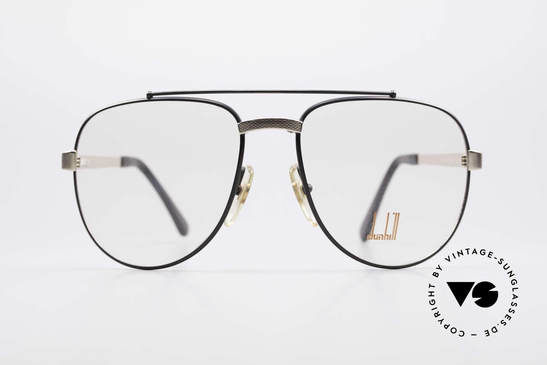 Dunhill 6029 Comfort Fit Luxus Brille 80er, Comfort-Fit: federnde Brücke für optimale Form, Passend für Herren