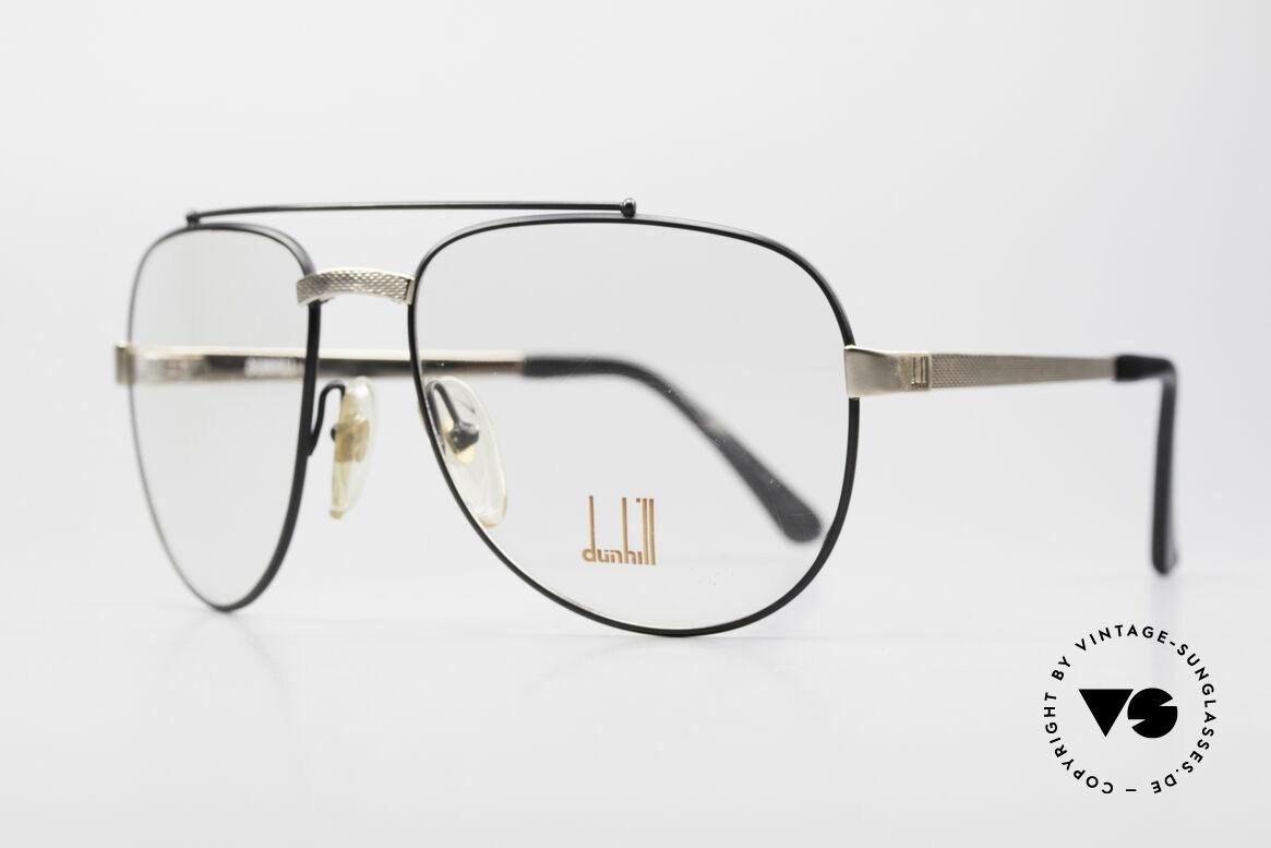 Dunhill 6029 Comfort Fit Luxus Brille 80er, vergoldet & Barley Verfahren (winzige Facetten), Passend für Herren