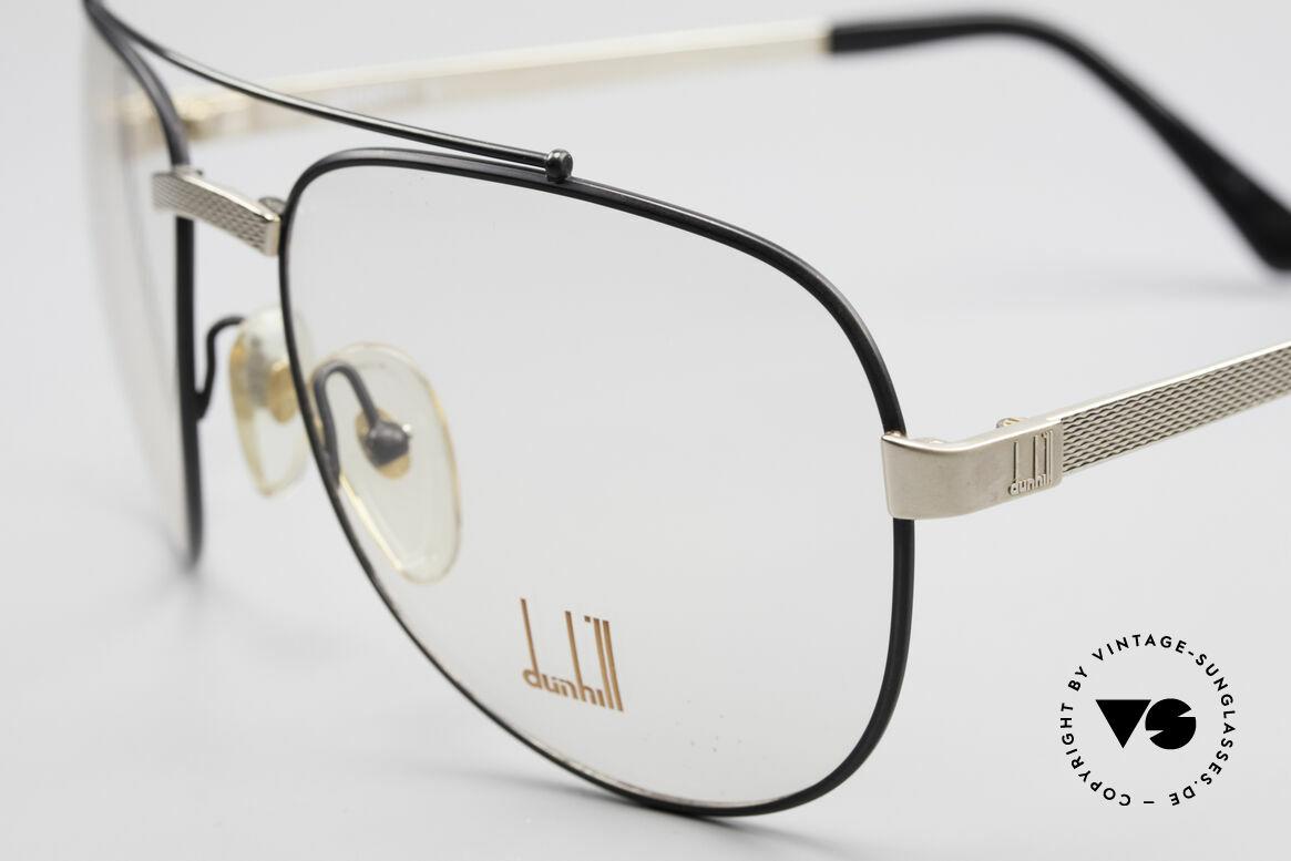 Dunhill 6029 Comfort Fit Luxus Brille 80er, sehr eleganter Klassiker mit Aston Martin Etui, Passend für Herren