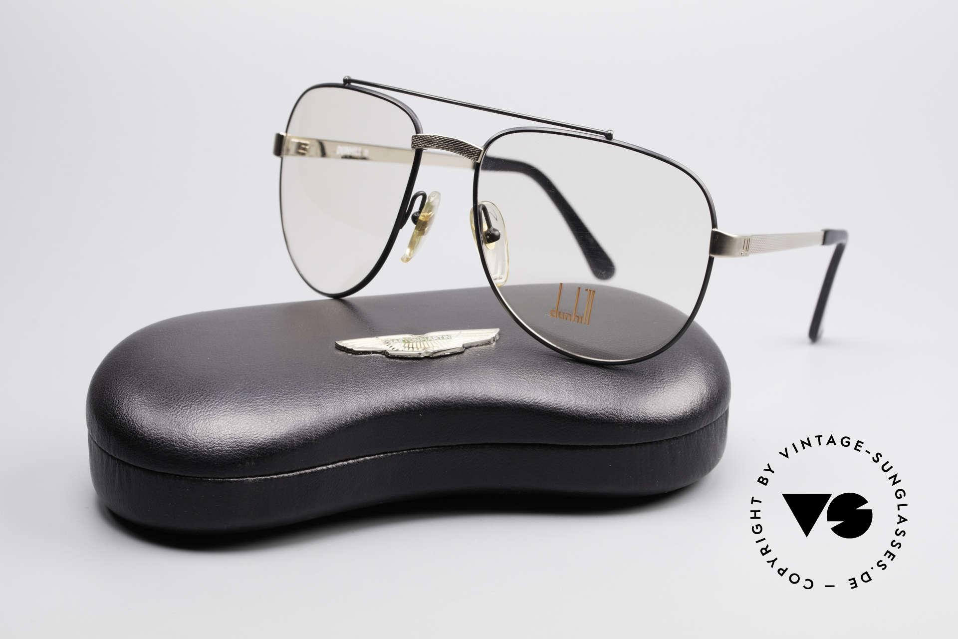 Dunhill 6029 Comfort Fit Luxus Brille 80er, KEIN retro, ein kostbares 35 Jahre altes Original, Passend für Herren
