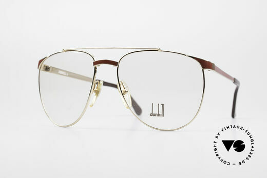 Dunhill 6034 Chinalack Luxus Brille 80er Details