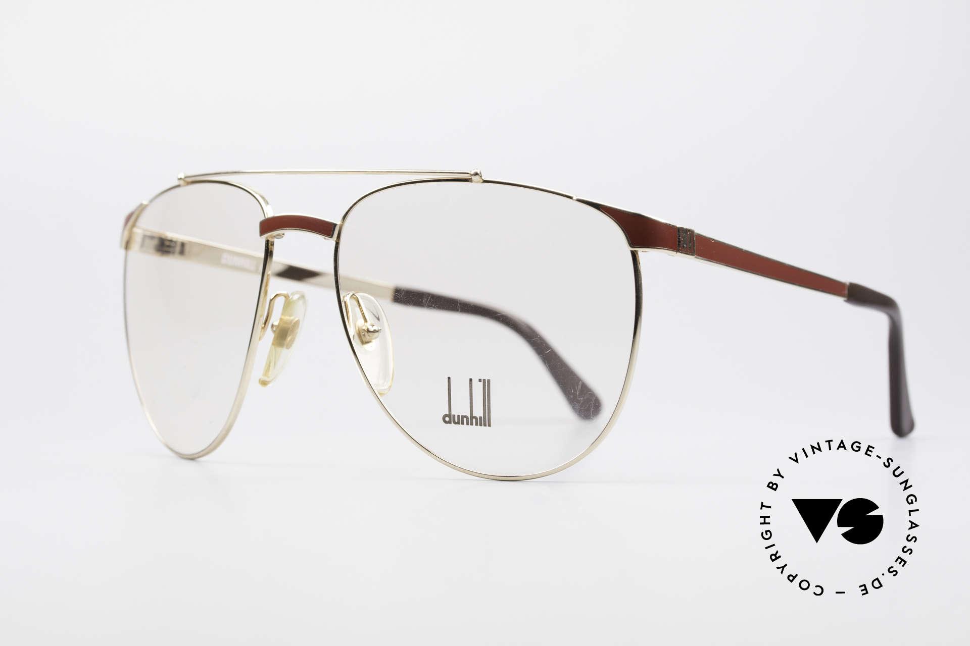 Dunhill 6034 Chinalack Luxus Brille 80er, Chinalack (viele Schichten verschiedener Lacke), Passend für Herren